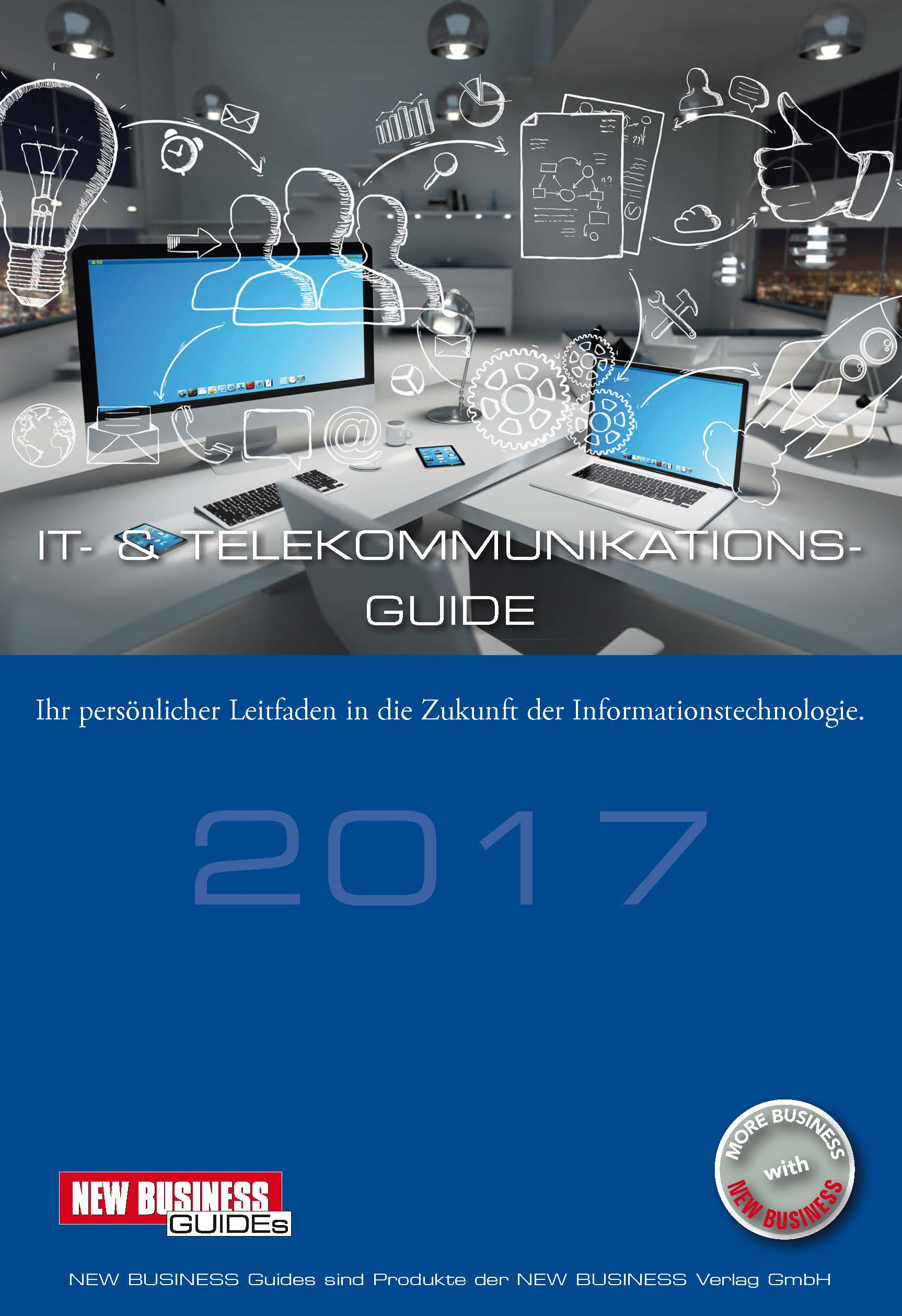 Cover: NEW BUSINESS Guides - IT- & TELEKOMMUNIKATIONS-GUIDE 2017