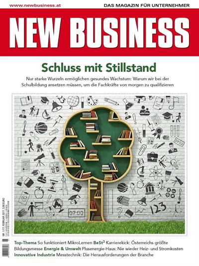 Cover: NEW BUSINESS - NR. 1, FEBRUAR 2017