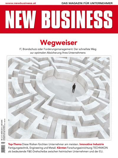 Cover: NEW BUSINESS - NR. 2, März 2017