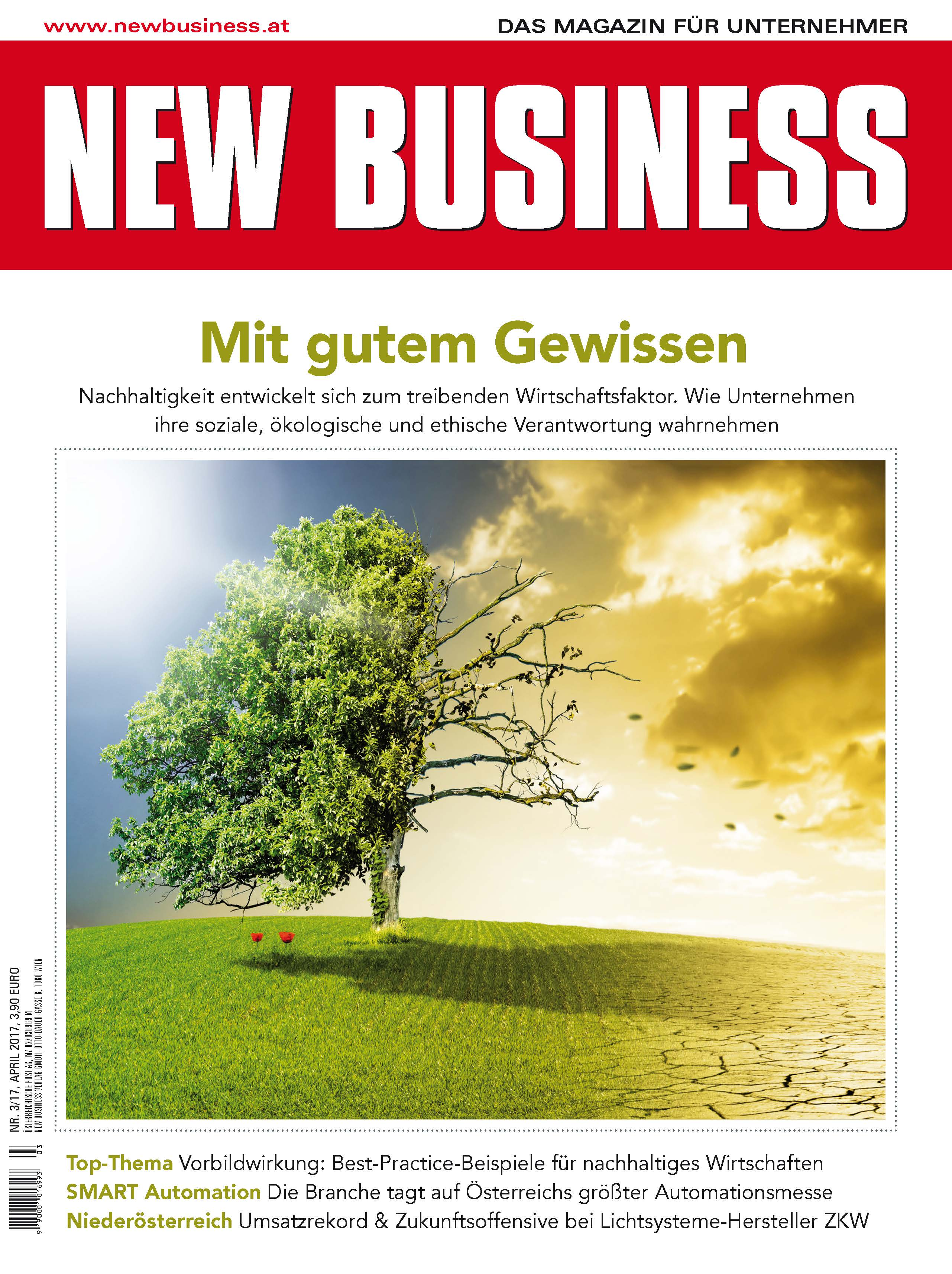 Cover: NEW BUSINESS - NR. 3, April 2017