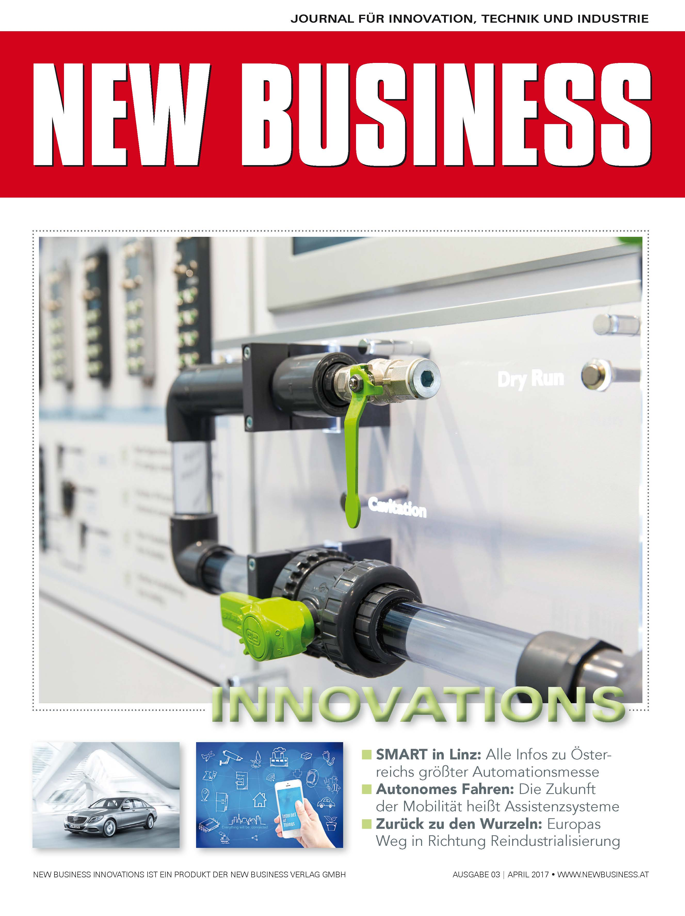 Cover: NEW BUSINESS Innovations - NR. 03, April 2017
