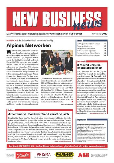 Cover: NEW BUSINESS News - 18-19/2017