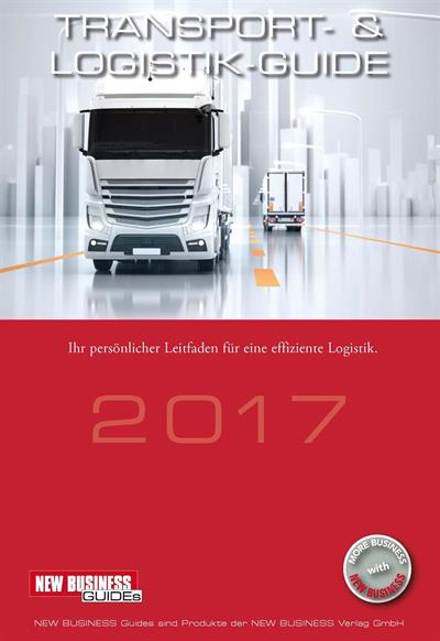 Cover: NEW BUSINESS Guides - TRANSPORT- & LOGISTIK GUIDE 2017