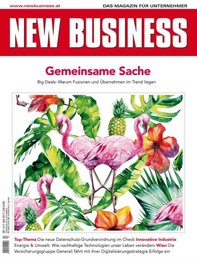 Cover: NEW BUSINESS - NR. 4, MAI 2017