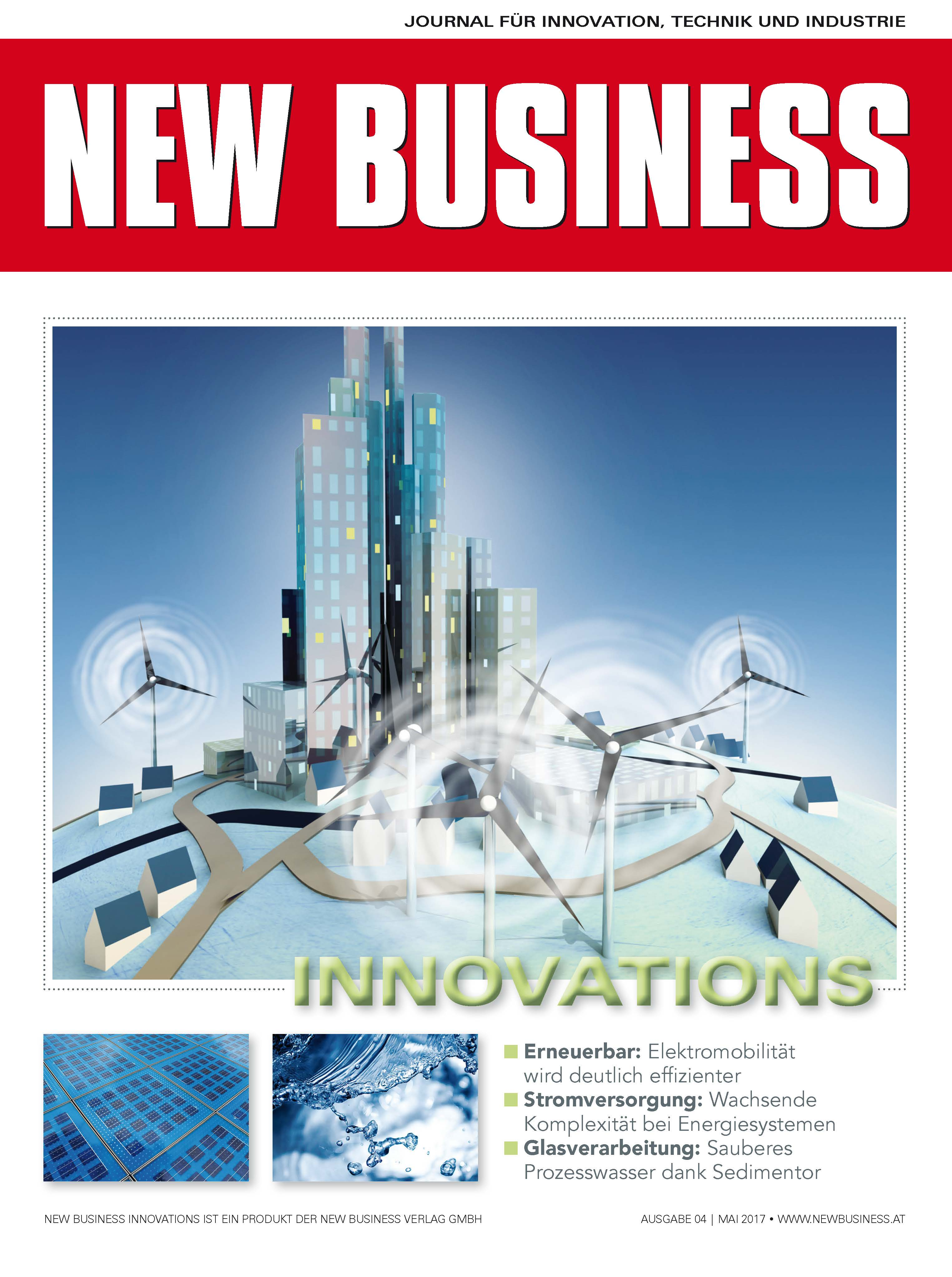 Cover: NEW BUSINESS Innovations - NR. 04, MAI 2017
