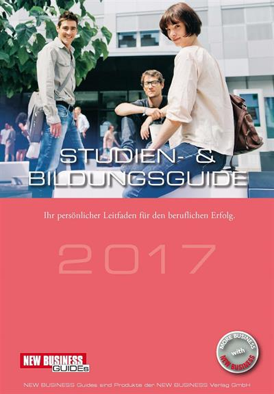 Cover: NEW BUSINESS Guides - STUDIEN- & BILDUNGS GUIDE 2017