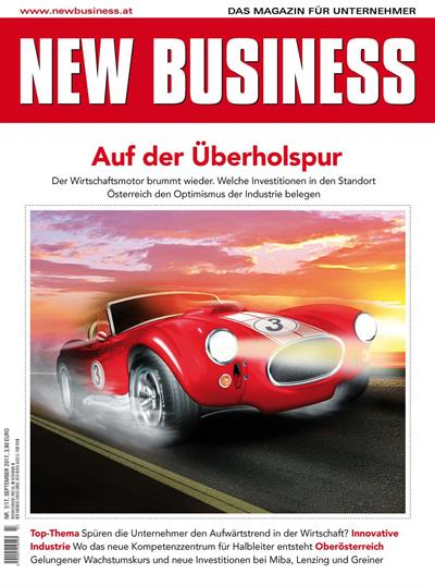Cover: NEW BUSINESS - NR. 7, SEPTEMBER 2017