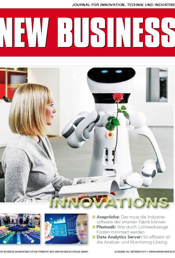 Cover: NEW BUSINESS Innovations - NR. 08, OKTOBER 2017