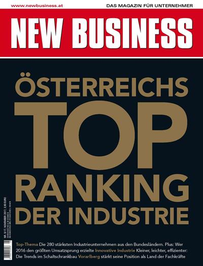Cover: NEW BUSINESS - NR. 9, NOVEMBER 2017