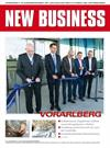 Cover: NEW BUSINESS Bundeslandspecial - VORARLBERG 2017