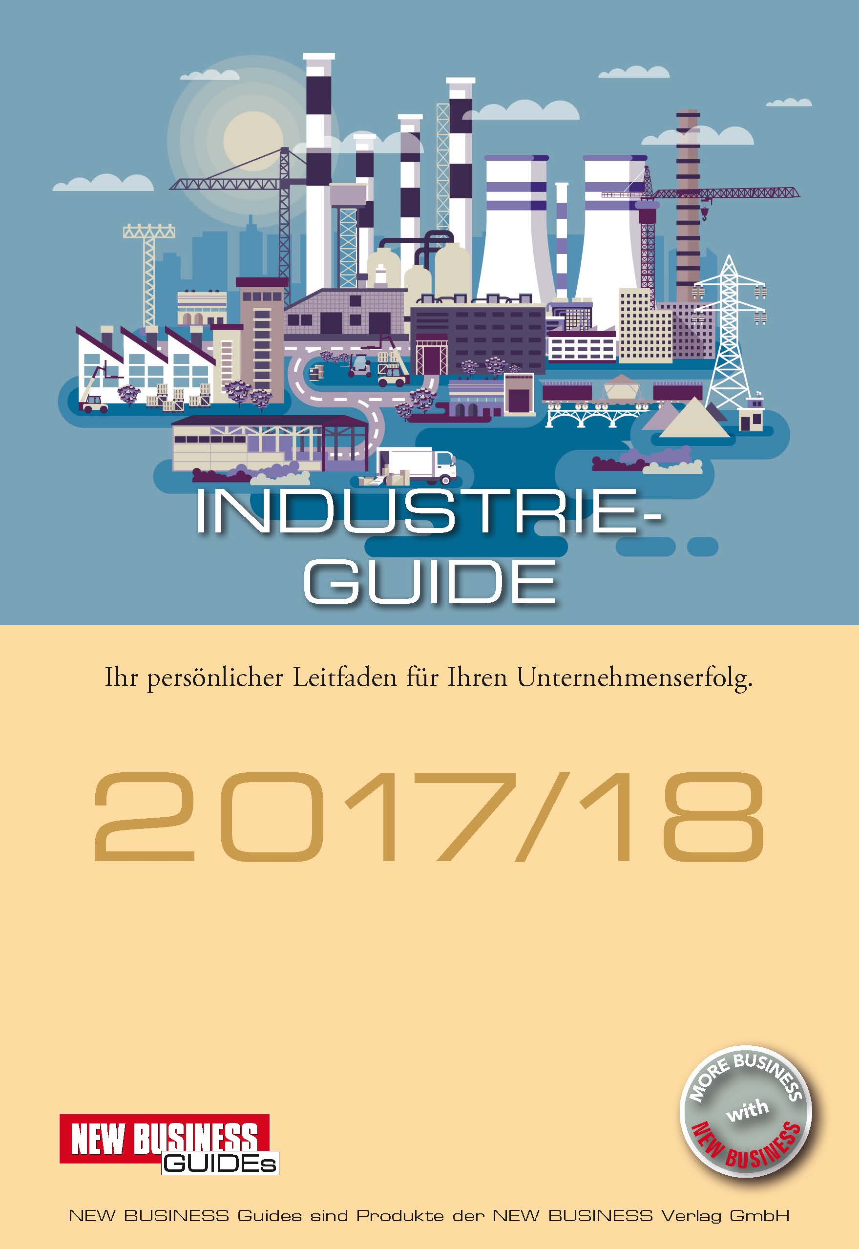 Cover: NEW BUSINESS Guides - INDUSTRIE GUIDE 2017/18