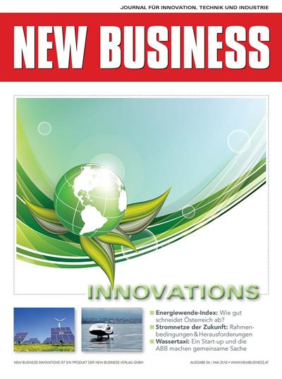 Cover: NEW BUSINESS Innovations - NR. 04, MAI 2018
