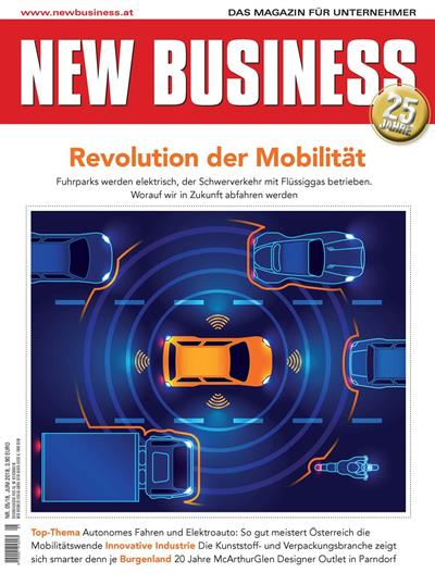 Cover: NEW BUSINESS - NR. 5, JUNI 2018