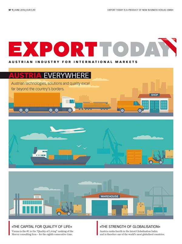 Cover: EXPORT TODAY print - EXPORT TODAY No. 1/2016
