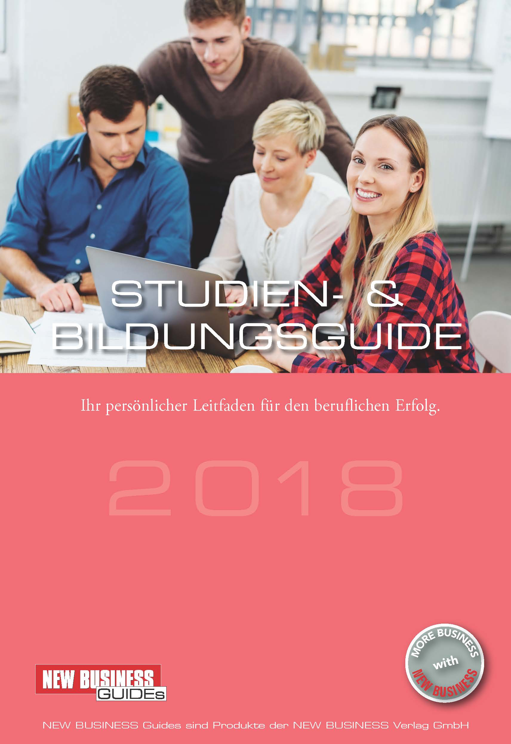 Cover: NEW BUSINESS Guides - STUDIEN- & BILDUNGSGUIDE 2018