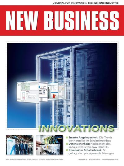 Cover: NEW BUSINESS Innovations - NR. 09, NOVEMBER 2018
