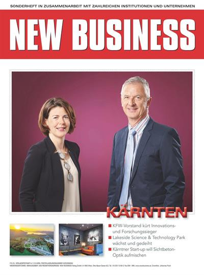 Cover: NEW BUSINESS Bundeslandspecial - KÄRNTEN 2019