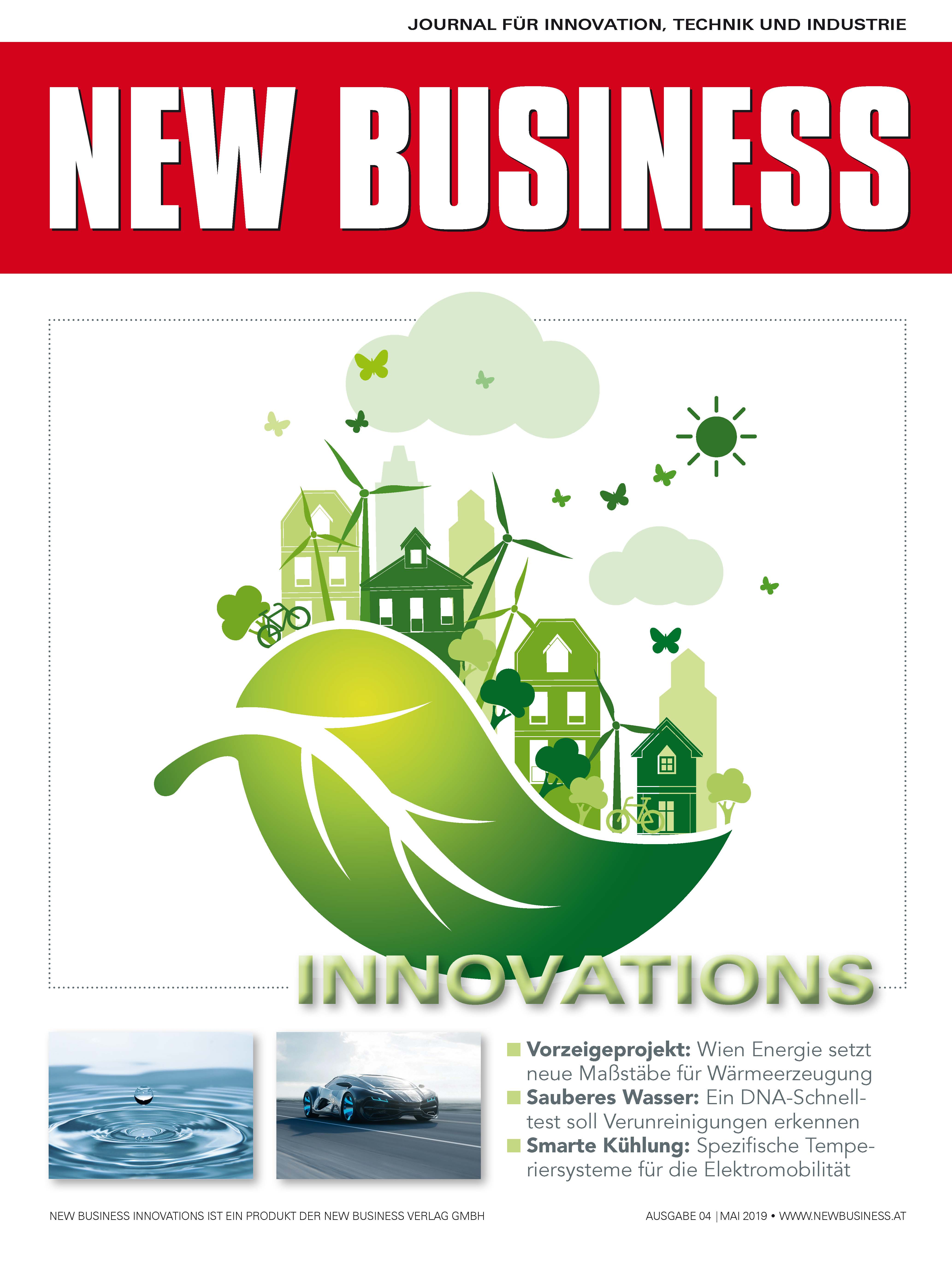 Cover: NEW BUSINESS Innovations - NR. 04, MAI 2019