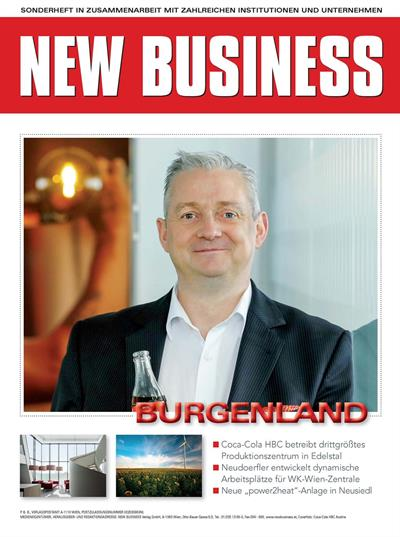 Cover: NEW BUSINESS Bundeslandspecial - BURGENLAND 2019