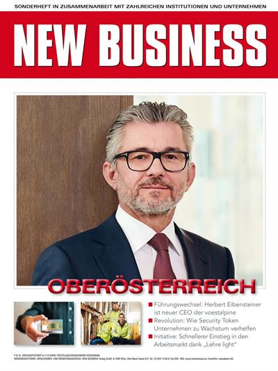 Cover: NEW BUSINESS Bundeslandspecial - OBERÖSTERREICH 2019