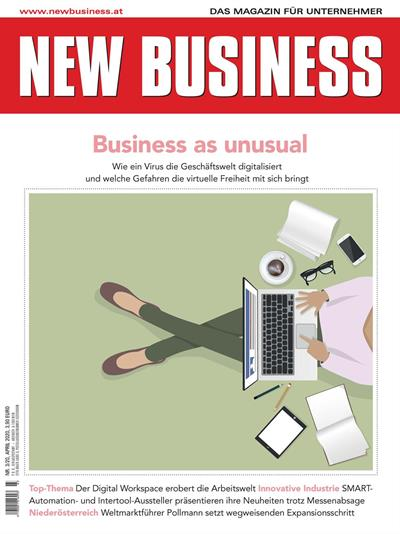 Cover: NEW BUSINESS - NR. 3, APRIL 2020