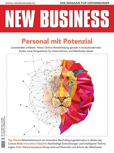 Cover: NEW BUSINESS - NR. 4, MAI 2020