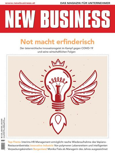 Cover: NEW BUSINESS - NR. 5, JUNI 2020