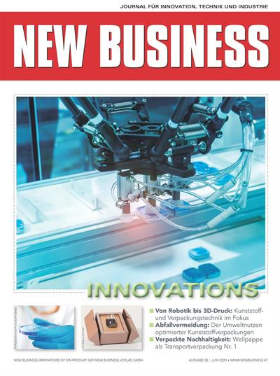 Cover: NEW BUSINESS Innovations - NR. 05, JUNI 2020