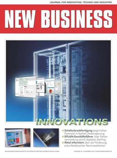 Cover: NEW BUSINESS Innovations - NR. 09, NOVEMBER 2020