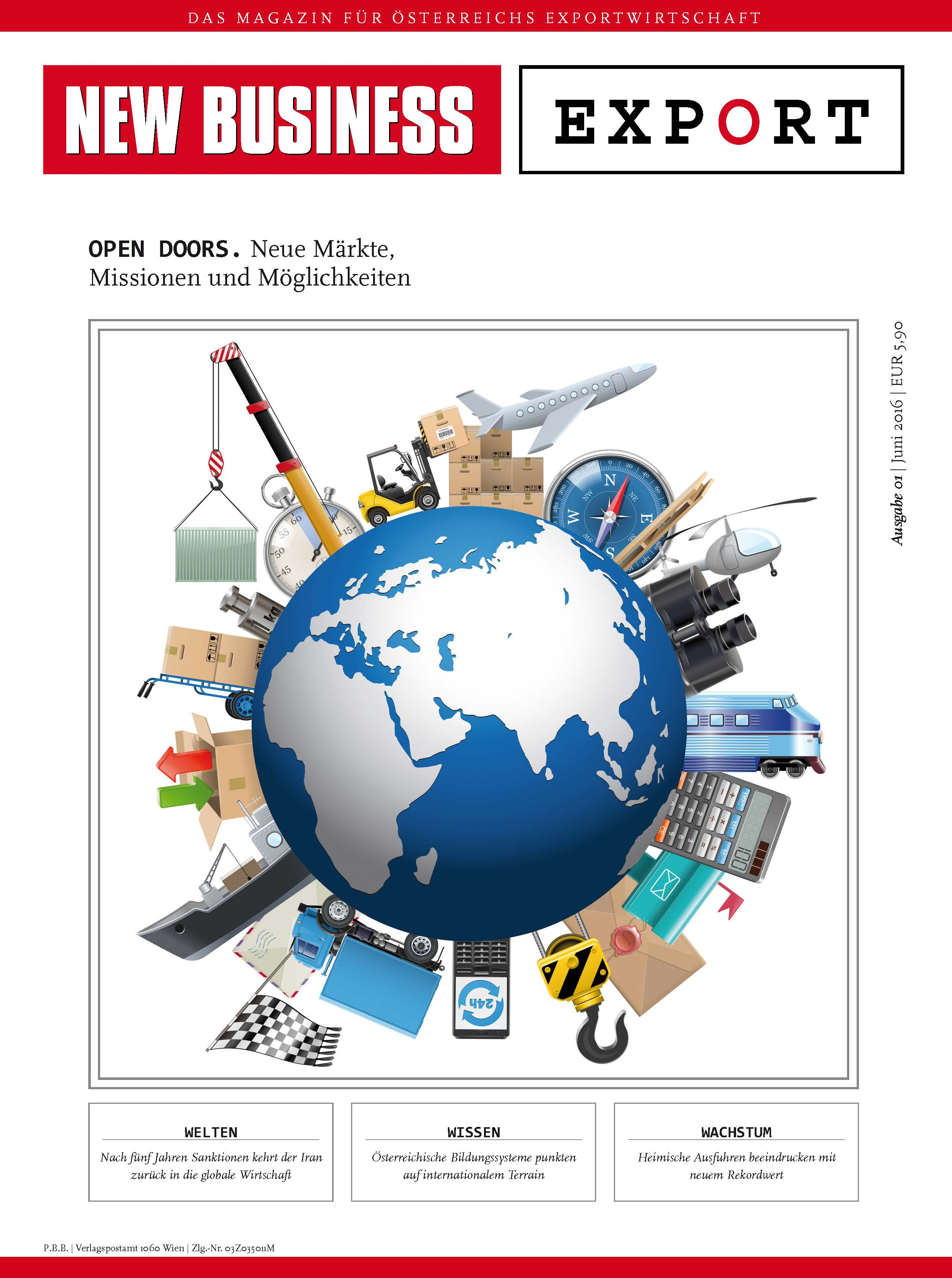 Cover: NEW BUSINESS Export - NB EXPORT 1/2016